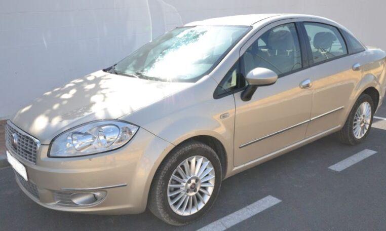 2012 Fiat Linea 1.6 MJT diesel 4 door saloon car for sale in Spain Costa del Sol Marbella Mijas Costa Malaga
