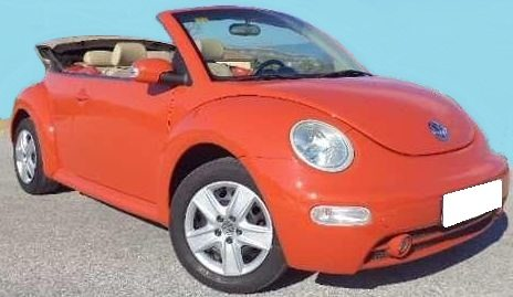 2004 volkswagen beetle 1 9 tdi cabriolet convertible cars for sale in spain. Black Bedroom Furniture Sets. Home Design Ideas