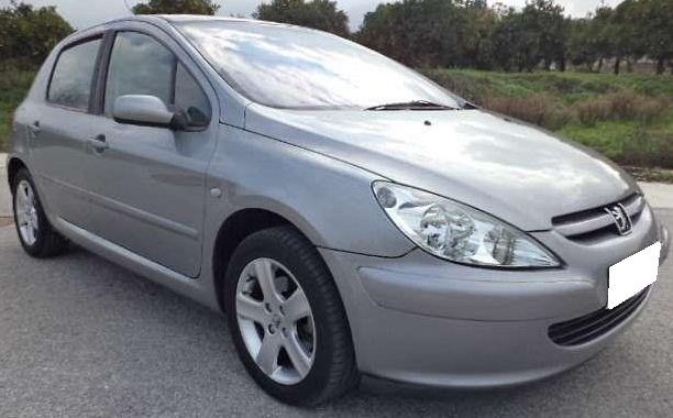 2004 peugeot 306 xs 2 0 hdi diesel 5 door hatchback car for sale in spain costa del sol marbella. Black Bedroom Furniture Sets. Home Design Ideas
