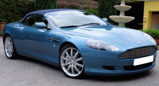 2005 aston martin db9 volante luxury convertible sports cars for sale in spain. Black Bedroom Furniture Sets. Home Design Ideas