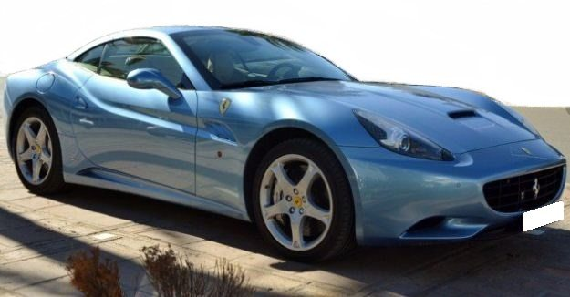 2011 Ferrari California convertible performance sports car for sale in Spain Costa del Sol Marbella Mijas Costa Malaga