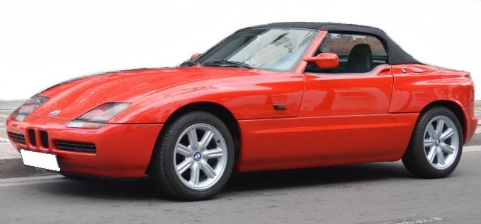1990 bmw z1 cabriolet classic collectors convertible sports cars for sale in spain. Black Bedroom Furniture Sets. Home Design Ideas