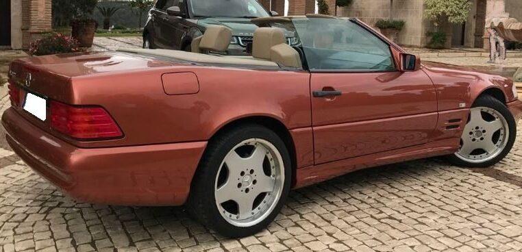 1998 Mercedes Benz Sl600 Cabriolet Automatic Convertible