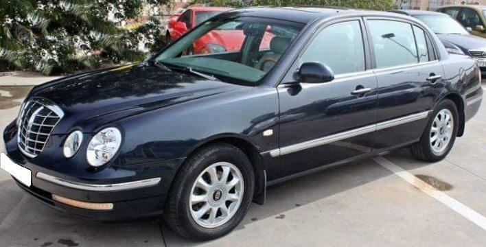 2005 Kia Opirus 3.5 V6 EX automatic luxury 4 door saloon car for sale in Spain Costa del Sol Marbella Mijas Costa Malaga