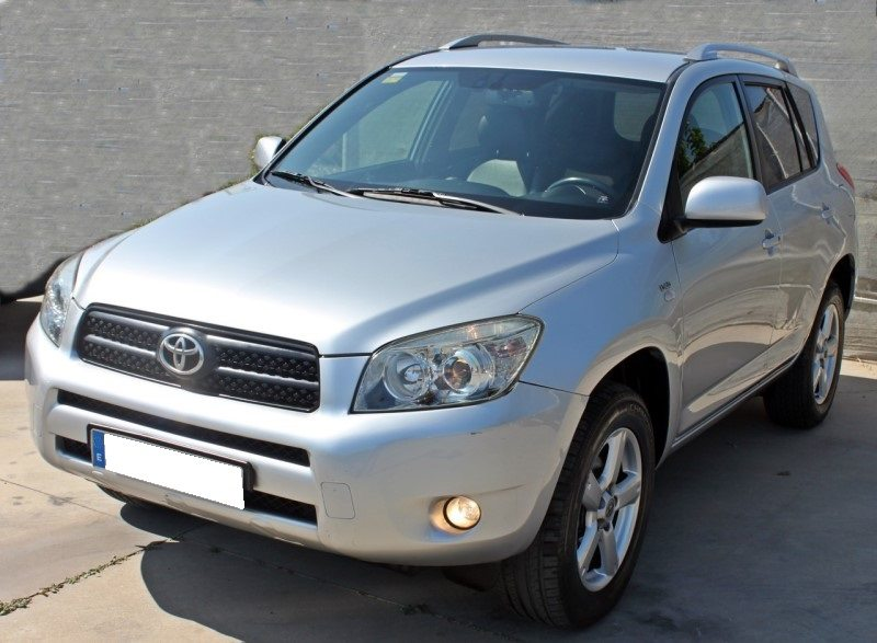 2007 toyota rav4 2 2 d4d 5 door manual 4x4 cars for sale in spain. Black Bedroom Furniture Sets. Home Design Ideas