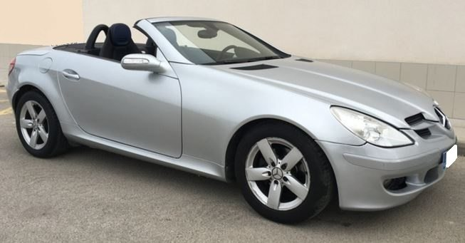 2004 Mercedes Benz SLK200 Kompressor Cabriolet 2 Seater Manual Convertible Sports  Car For Sale In Spain