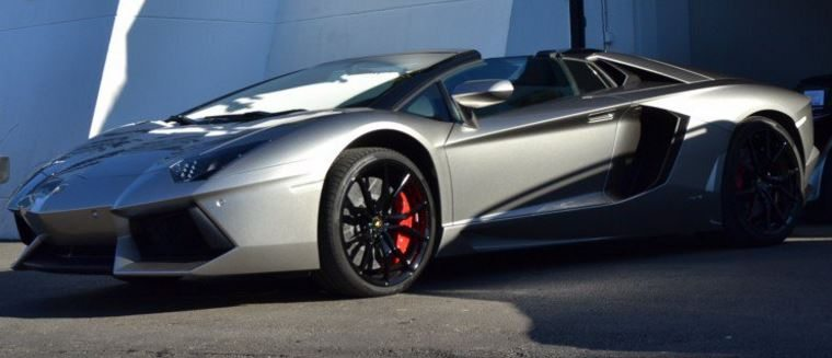 2015 Lamborghini Aventador Roadster Lp 700 4 Convertible Sports