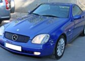 1998 Mercedes Benz SLK200 Kompressor cabriolet automatic hardtop convertible sports car for sale in Spain Costa del Sol Marbella Mijas Costa Malaga