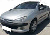 2001 Peugeot 206 CC 2.0 petrol manual cabriolet 2 door hardtop convertible car for sale in Spain Costa del Sol Marbella Mijas Costa Malaga