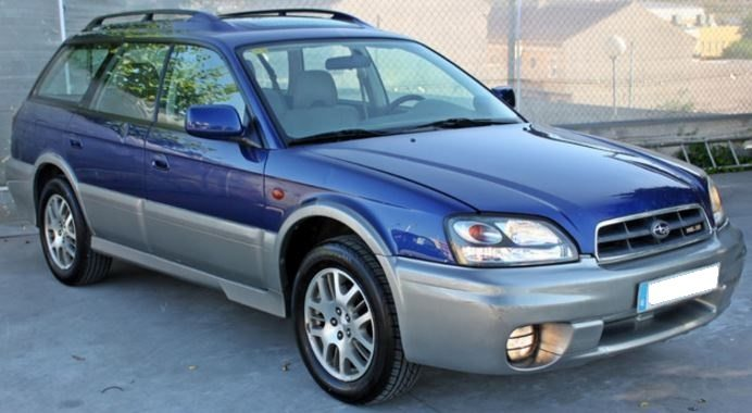 2003 Subaru Legacy H6 3.0 automatic 5 door estate car for sale in Spain Costa del Sol Marbella Mijas Costa Malaga