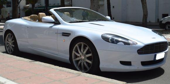 2007 Aston Martin DB9 Volante touchtronic2 automatic luxury convertible sports car for sale in Spain Costa del Sol Marbella Mijas Costa Malaga