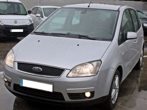 2007 Ford Focus C-Max 1.6 TDCi diesel manual 5 door hatchback mpv car for sale in Spain Costa del Sol Marbella Mijas Costa Malaga