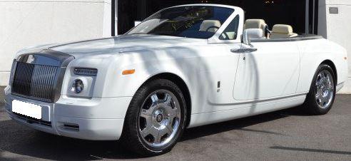 2009 Rolls Royce Phantom drophead luxury convertible coupe car for sale in Spain Costa del Sol Marbella Mijas Costa Malaga