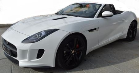2016 Jaguar F-Type 3.0 V6 automatic convertible sports car for sale in Spain Costa del Sol Marbella Mijas Costa Malaga