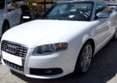 2006 Audi S4 Cabriolet V8 automatic 4 seater convertible car for sale in Spain Costa del Sol Marbella Mijas Costa Malaga