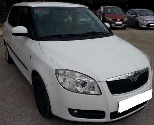 2010 Skoda Fabia 1.4 TDi diesel manual 5 door hatchback car for sale in Spain Costa del Sol Marbella Mijas Costa Malaga