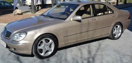 2000 Mercedes Benz S500 automatic 4 door luxury saloon car for sale in Spain Costa del Sol Marbella Mijas Costa Malaga