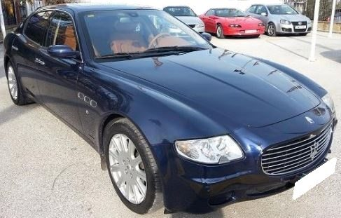 2004 Maserati Quattroporte 4.2 Duoselect automatic 4 door luxury sports saloon car for sale in Spain Costa del Sol Marbella Mijas Costa Malaga
