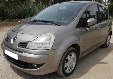 2008 Renault Grand Modus Dynamique 1.6 petrol automatic 5 door hatchback car for sale in Spain Costa del Sol Marbella Mijas Costa Malaga
