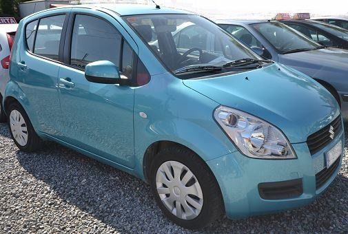 2008 Suzuki Spalsh 1.0 petrol manual 5 door hatchback car for sale in Spain Costa del Sol Marbella Mijas Costa Malaga