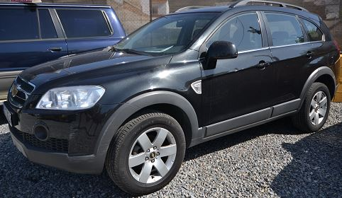2009 Chevrolet Captiva 2.0 VCDi diesel manual 7 seater 4x4 for sale in Spain Costa del Sol Marbella Mijas Costa Malaga