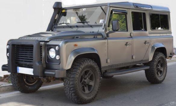 2010 Land Rover Defender 110 2 4 Diesel Manual 4x4 Cars For Sale In Spain