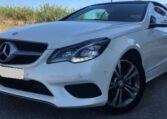 2016 Mercedes Benz E200 cabriolet 2.0 petrol automatic luxury convertible car for sale in Spain Costa del Sol Marbella Mijas Costa Malaga