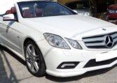 2010 Mercedes Benz E350 CDi diesel cabriolet automatic luxury convertible car for sale in Spain Costa del Sol Marbella Mijas Costa Malaga
