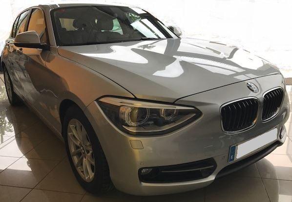 2013 BMW 118d F20 diesel sport automatic 5 door hatchback car for sale in Spain Costa del Sol Marbella Mijas Costa Malaga