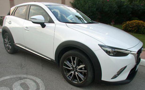 2016 Mazda CX-3 2.0 Luxury Sky Active automatic 4x2 SUV for sale in Spain Costa del Sol Torre del Mar Torrox Velez Malaga