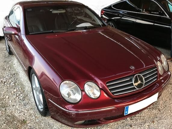 2000 Mercedes Benz Cl600 Automatic Coupe Luxury Cars For