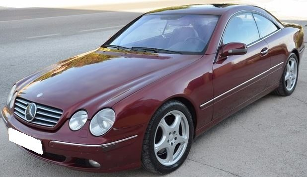 2000 Mercedes Benz CL600 automatic 2 door coupe luxury car for sale in Spain Costa del Sol Marbella Mijas Costa Malaga