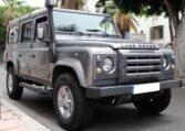 2008 Land Rover Defender 110 2.4 TD4 diesel manual 4x4 for sale in Spain Costa del Sol Marbella Mijas Costa Malaga