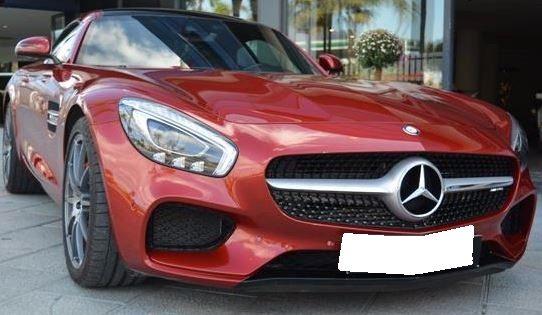 2015 Mercedes Benz AMG GT S coupe sports car for sale in Spain Costa del Sol Marbella Mijas Costa Malaga