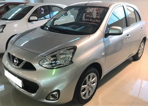 2015 Nissan Micra 1.2 Acenta automatic 5 door hatchback car for sale in Spain Costa del Sol Marbella Mijas Costa Malaga