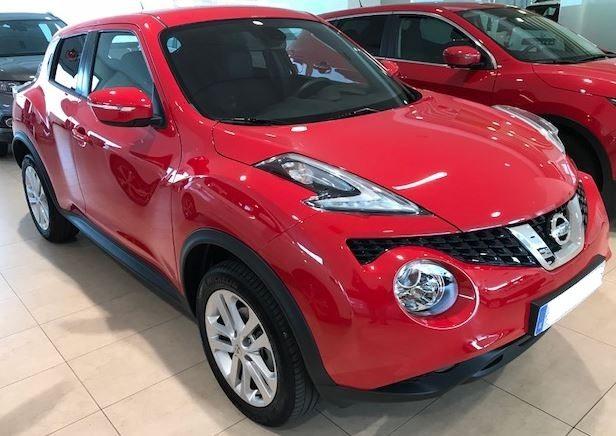 2017 Nissan Juke 1.2 DIG-T N-Connecta manual 4x2 for sale in Spain Costa del Sol Marbella Mijas Costa Malaga