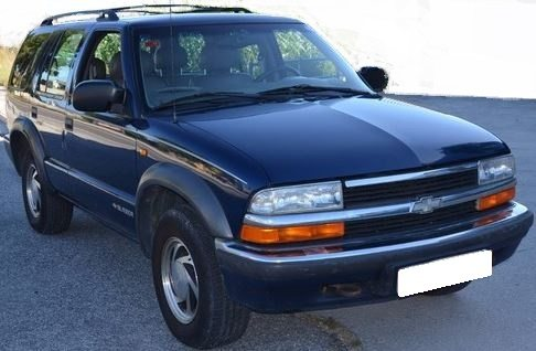 1999 Chevrolet Blazer 4.3 V6 petrol automatic 4x4 for sale in Spain Costa del Sol Marbella Mijas Costa Malaga