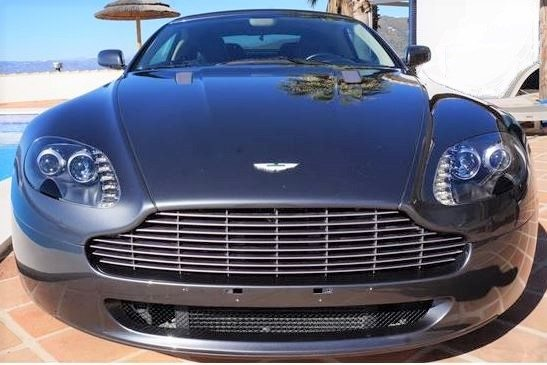 2008 Aston Martin Vantage cabriolet 4.3 Sportshift semi-automatic convertible sports car for sale in Spain Costa del Sol Malaga Torre del Mar Nerja