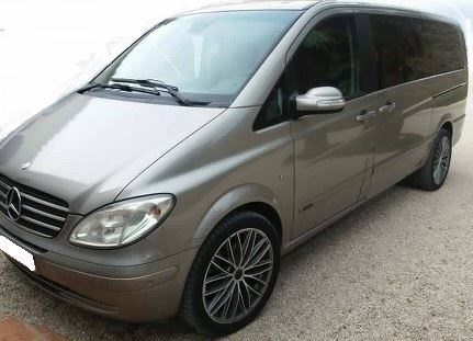 2008 Mercedes Benz Viano V6 3.0 CDi Ambiente diesel automatic 5 seater mpv for sale in Spain Costa del Sol Malaga Torre del Mar Nerja