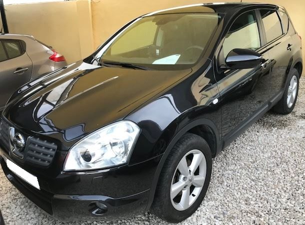 2008 Nissan Qashqai Acenta 2.0 petrol automatic 4x2 suv for sale in Spain Costa del Sol Marbella Mijas Costa Malaga