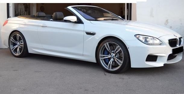 2014 BMW M6 cabriolet luxury convertible sports car for sale in Spain Costa del Sol Marbella Mijas Costa Malaga