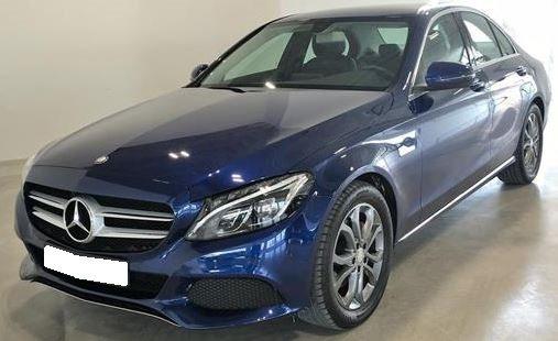 2015 Mercedes Benz C220d 7G Plus automatic 4 door saloon car for sale in Spain Costa del Sol Marbella Mijas Costa Malaga