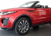 2017 Range Rover Evoque cabriolet 2.0 TD4 HSE Dynamic diesel automatic convertible 4x4 for sale in Spain Costa del Sol Marbella Mijas Costa Malaga