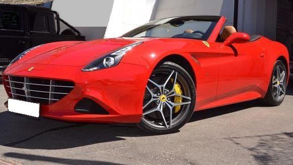 2017 Ferrari California T convertible sports car for sale in Spain Costa del Sol Marbella Mijas Costa Malaga