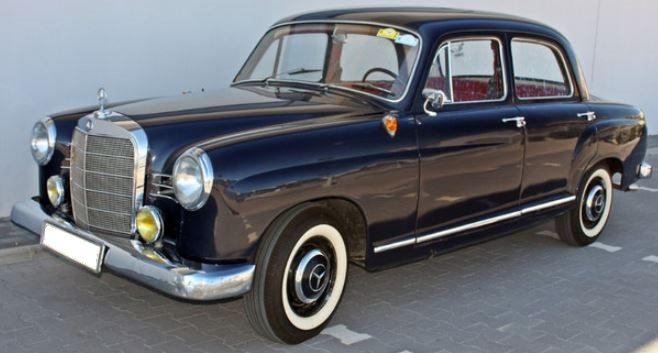 1962 Mercedes 180D Ponton diesel manual 4 door classic car for sale in Spain Costa del Sol Marbella Mijas Costa Malaga
