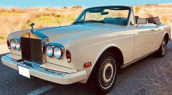 1985 Rolls Royce Corniche II automatic luxury convertible classic car for sale in Spain Costa del Sol Marbella Mijas Costa Malaga