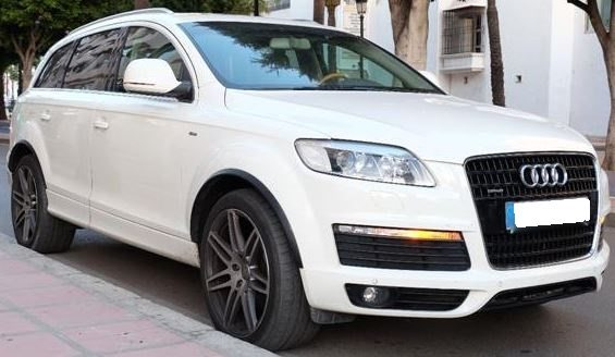 2009 Audi Q7 4.2 FSi S Line 7 seater automatic 4x4 suv for sale in Spain Costa del Sol Marbella Mijas Costa Malaga