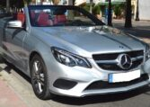 2013 Mercedes Benz E220 Cabriolet CDi 7G Plus automatic luxury convertible car for sale in Spain Costa del Sol Marbella Mijas Costa Malaga