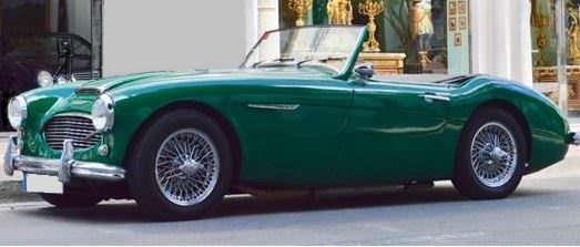 1960 Austin Healey 3000 convertible classic car for sale in Spain Costa del Sol Marbella Mijas Costa Malaga