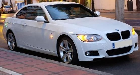 2012 BMW 325i E93 cabriolet automatic convertible sports car for sale in Spain Costa del Sol Marbella Mijas Costa Malaga